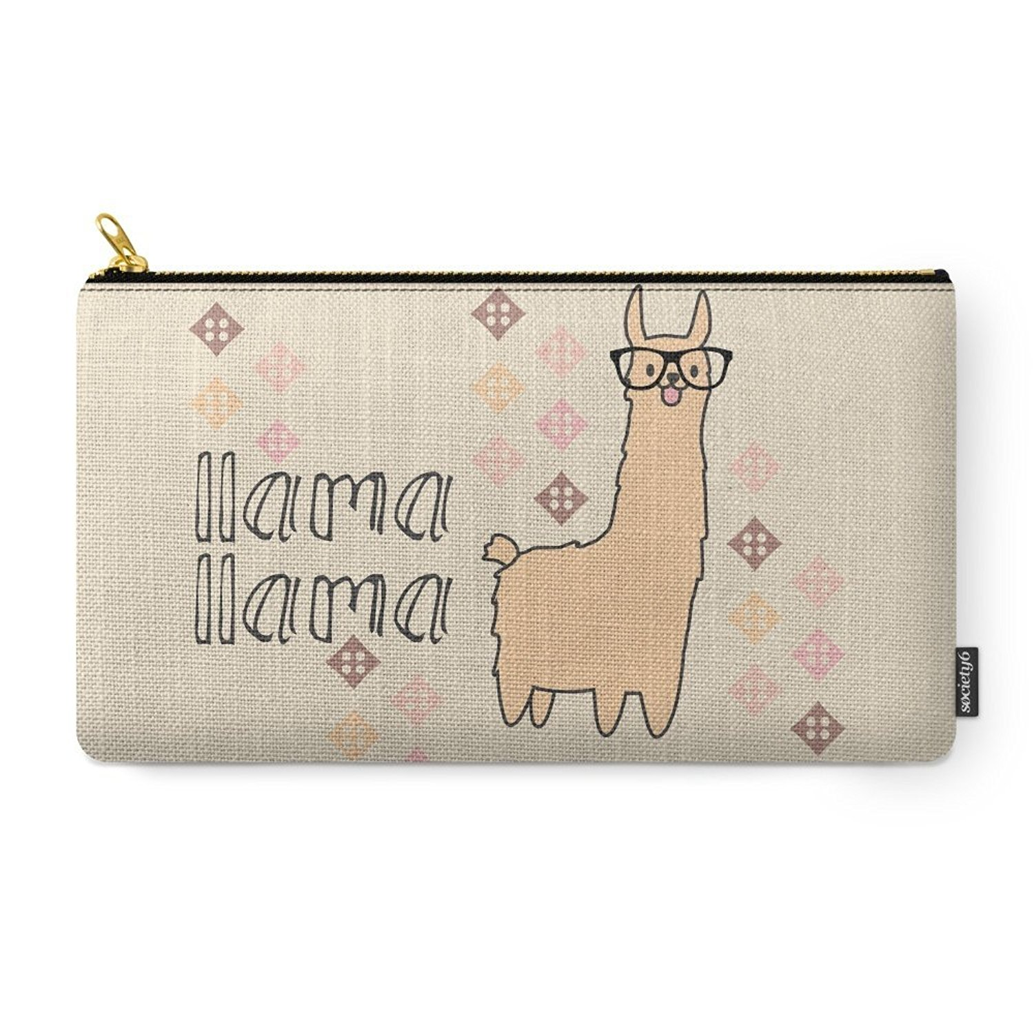 "Llama Llama Carry-All Pouch Medium (9.5"" x 6""), Fast shipping,Brand Yum Lures by"