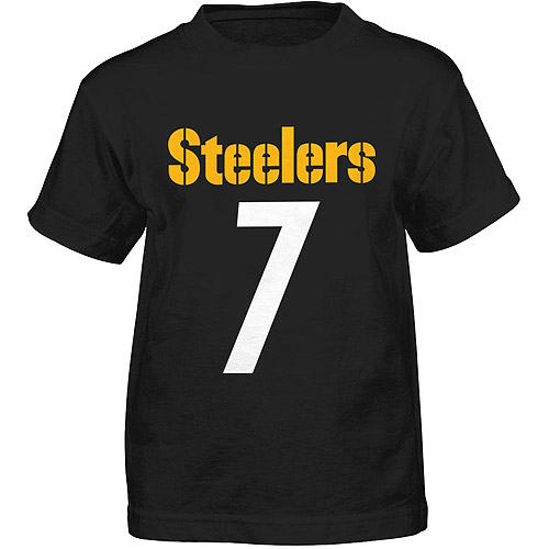 NFL Boys' Pittsburgh Steelers Ben Roethlisberger Short Sleeve Player Tee