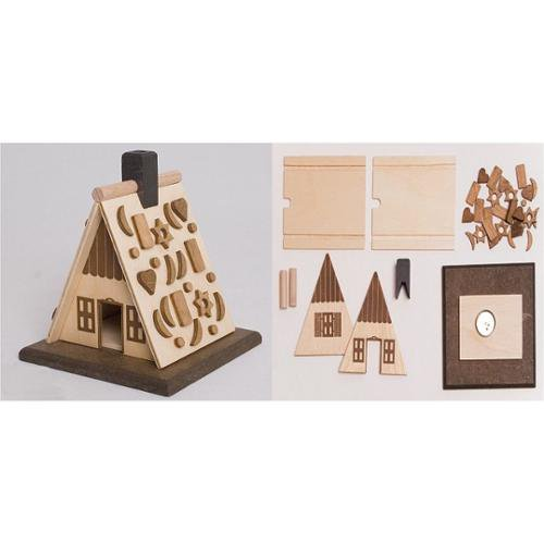 Do it yourself kit gingerbread house wooden german incense smoker do it yourself kit gingerbread house wooden german incense smoker solutioingenieria Image collections