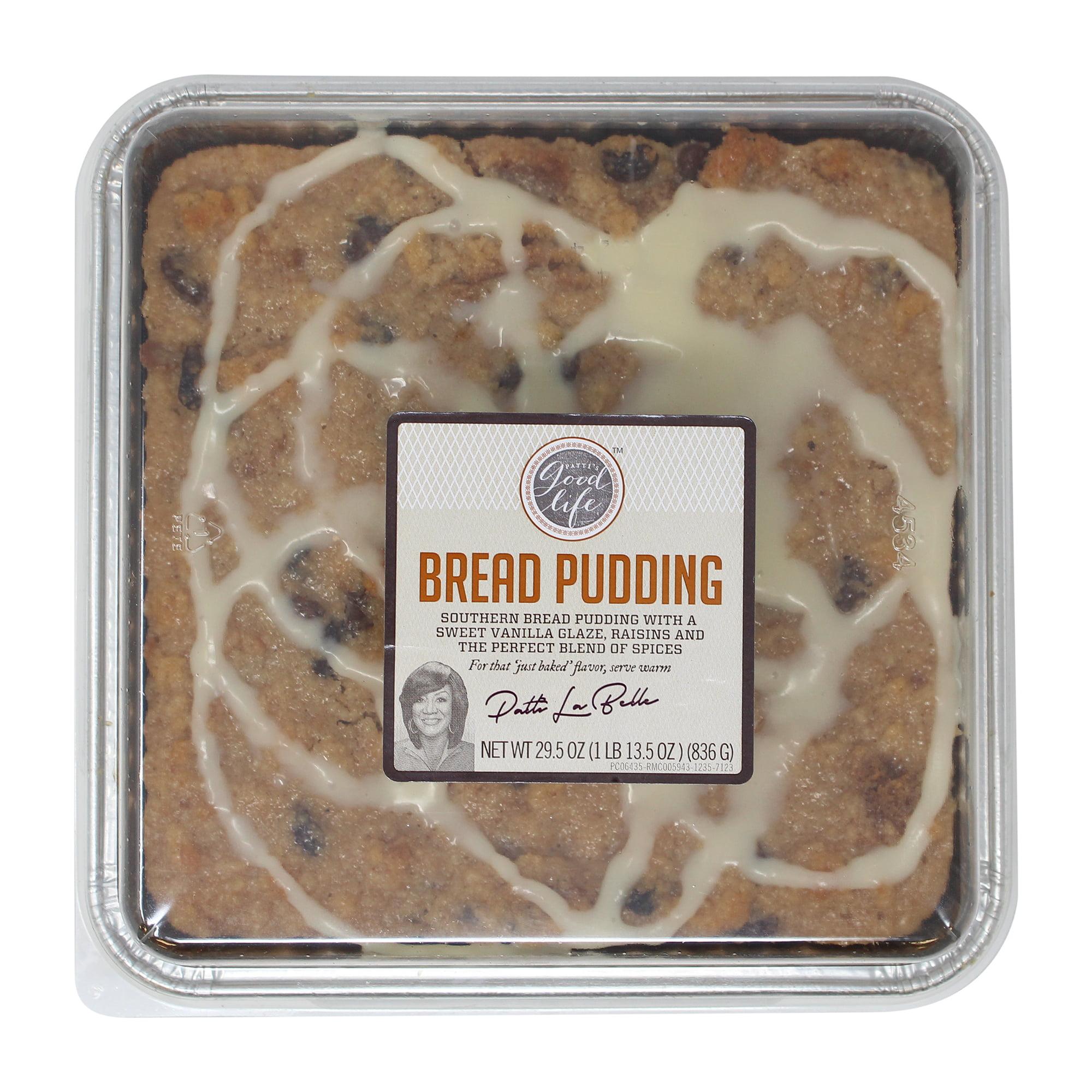 Patti LaBelle Southern Bread Pudding with Raisins and a Sweet Vanilla Glaze, 29.5 oz