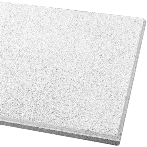 Armstrong Acoustical Ceiling Tile 589B Cirrus Humiguard Plus Beveled  Tegular, 24X24X3/4 In.