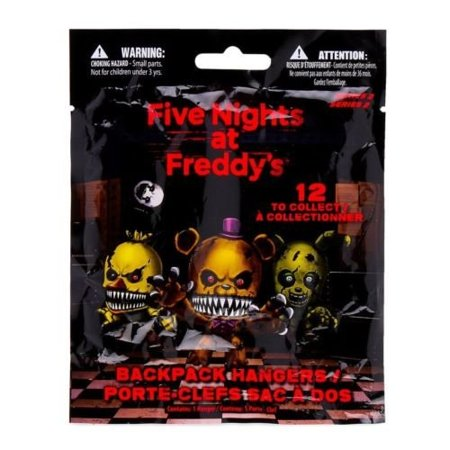 Fnaf Officially Licensed Five Nights At Freddys 3   Figure Hangers Toy 5 Packs
