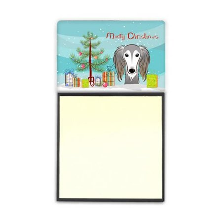Carolines Treasures BB1601SN Christmas Tree & Saluki Sticky Note Holder - image 1 de 1
