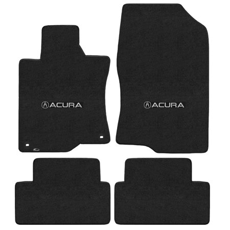 Acura Tsx Trunk Tray - Lloyd Mats Tsx 2009-2014 4Pc Mats Ebony Velourtex Acura With A Logo