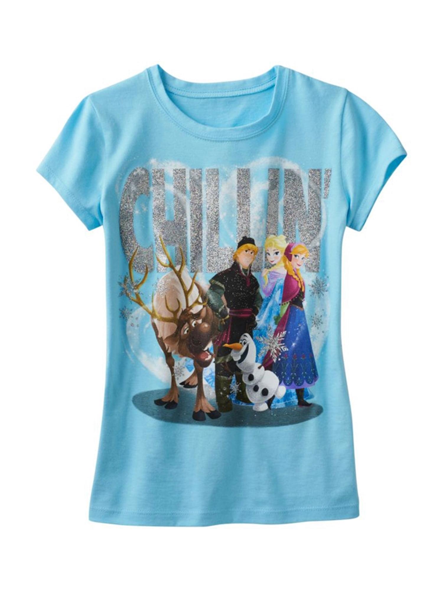 Disney Girls Chillin' Graphic T-Shirt