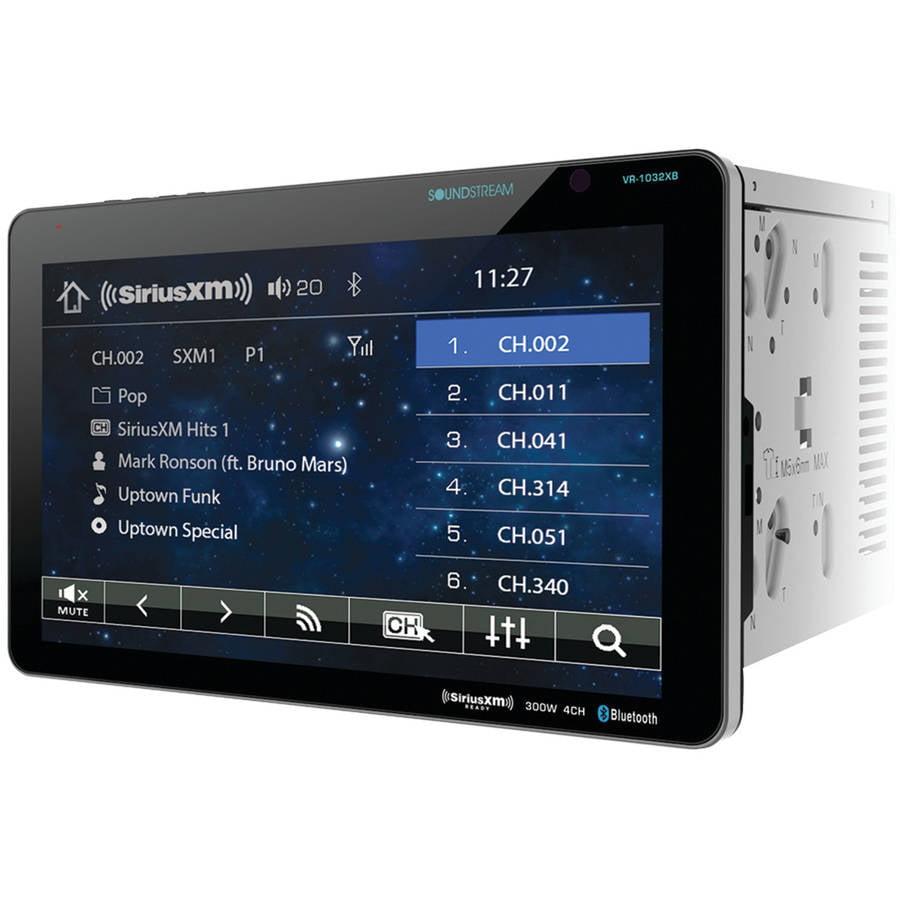 """Soundstream VR-1032XB 10.3"""" Double-DIN In-Dash AptiX DVD ..."""