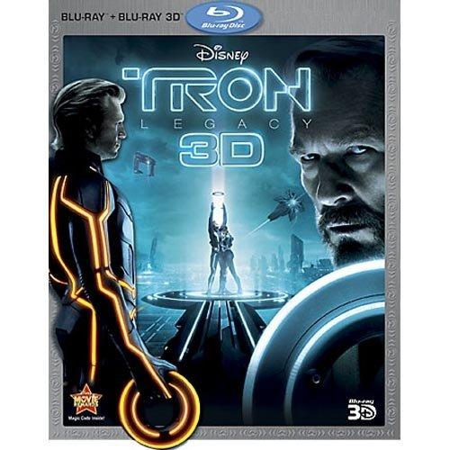 TRON: Legacy (3D Blu-ray + Blu-ray + DVD)
