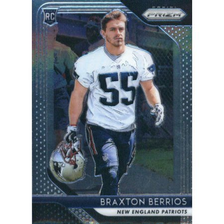 wholesale dealer becd4 d5d27 2018 Panini Prizm #287 Braxton Berrios New England Patriots Rookie Football  Card