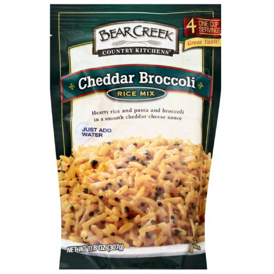 Bear Creek Country Kitchens Cheddar Broccoli Rice Mix, 10.8 oz, (Pack of 6)