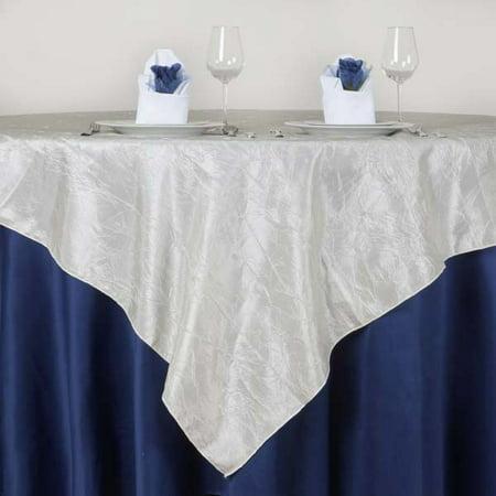Efavormart Taffeta Crinkle Table Overlay 72