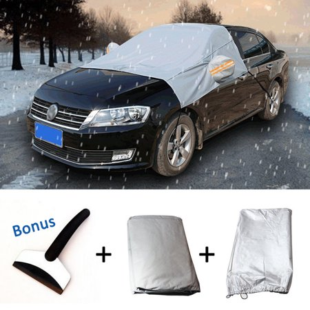 High Fixed Windshield (Car Windshield Snow Cover+Ice Scraper,iClover 85