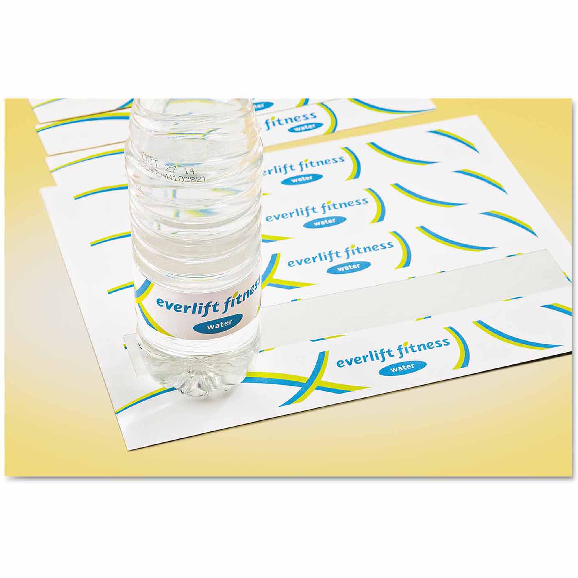 Avery Trueblock Technology Shipping Labels Walmartcom - Avery water bottle label template