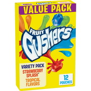 Fruit Snacks Gushers Variety Snack Pack 12 Pouches 0.9 oz Each