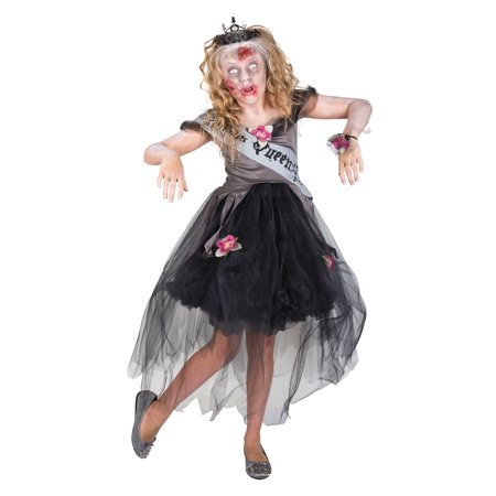 Zombie Girl Scout Halloween Costume (Zombie Prom Queen Costume for)