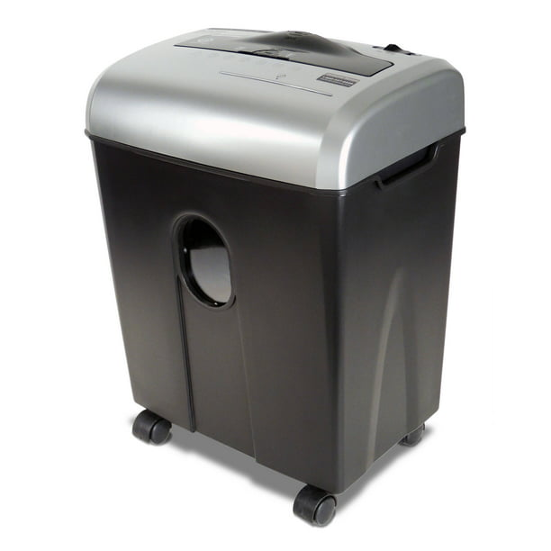 Aurora 12-Sheet Cross-Cut ShredSafe Paper/CD/Credit-Card Shredder