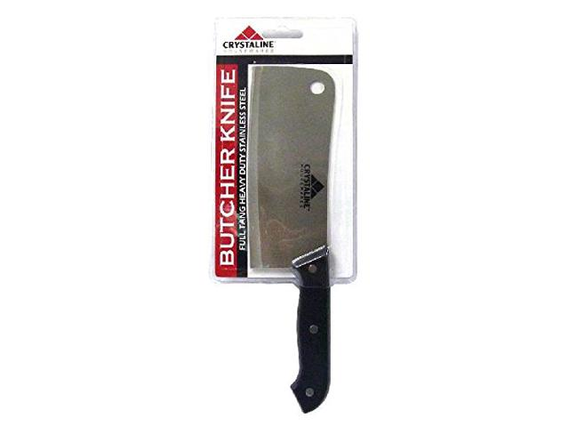 Butcher Knife-Full Tang Heavy Duty Stainless Steel 9.6in Butchering Knife, Never Need To Sharpen, Use for Kitchen, Hunting Knife, Survival... by