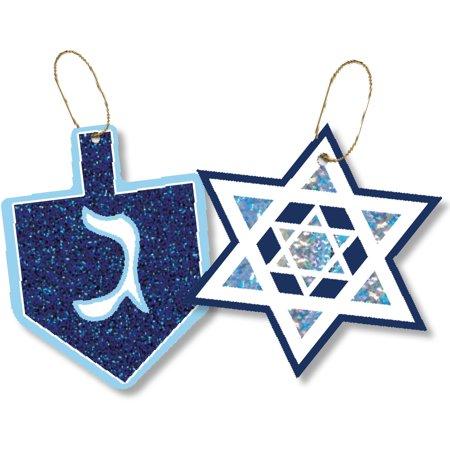 Jillson & Roberts Gift Tag Assortment, Hanukkah Designs (24 Tags)