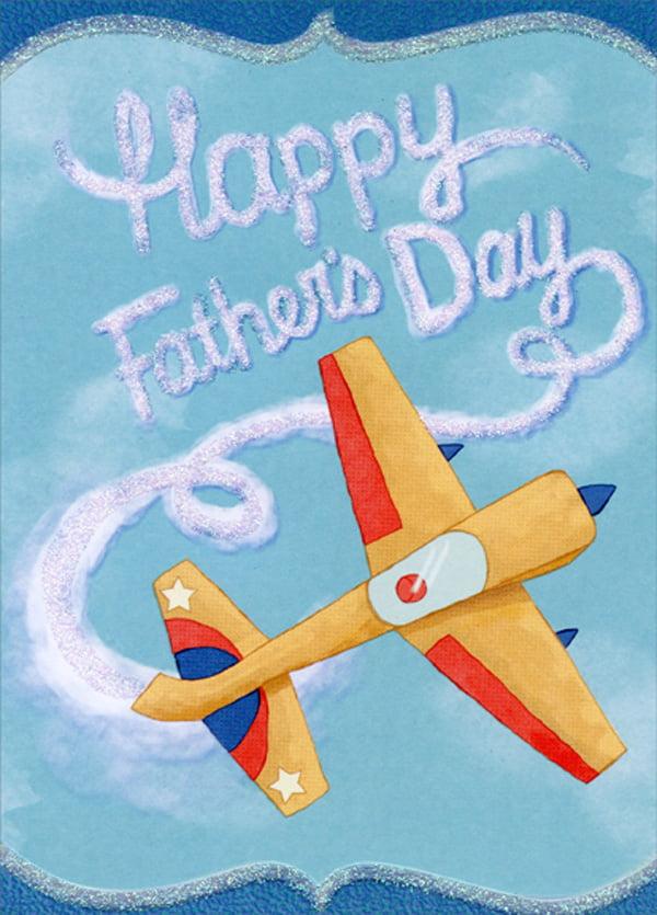 Designer Greetings Sky Writing Airplane Father S Day Card Walmart Com Walmart Com