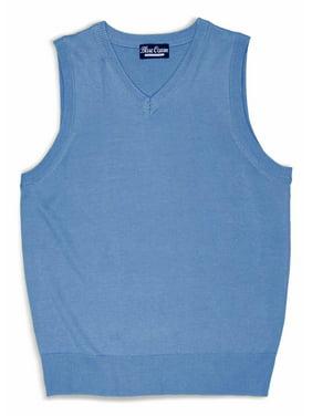 Blue Ocean Clothing Kids Solid Color Sweater Vest