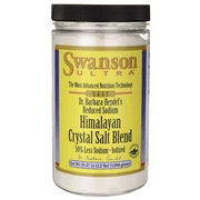 Swanson Reduced Sodium Himalayan Crystal Salt Bl 35.27 oz (1,000 grams) Salt