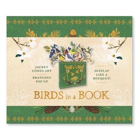 Bird Jacket (Birds in a Book  (A Bouquet in a Book) : Jacket Comes Off. Branches Pop Up. Display Like a)