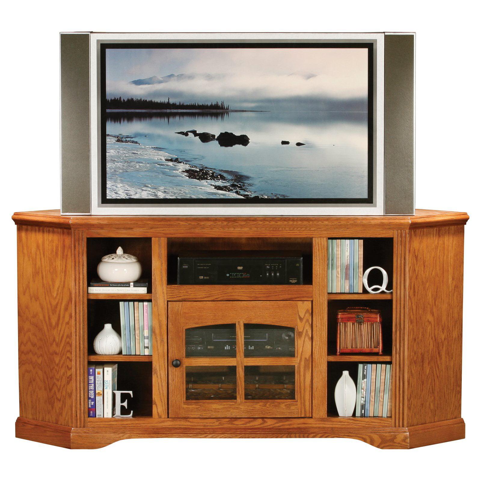 Eagle Furniture Oak Ridge Customizable 63 in. Thin Corner Entertainment Console