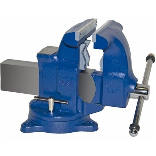 Yost Medium-Duty Tradesman Combination Pipe and Bench Vise Swivel Base, 8in. Jaw Width, Model# 80C by Yost Vises