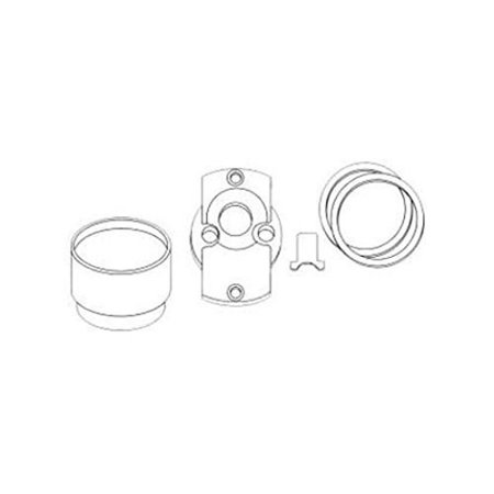 Alarm Lock ETBIC/26D Rim Cyl. Adapter Kit Vd99 Trim, Best 6 & 7 Pin Ic Core Core Removable Lock Kit