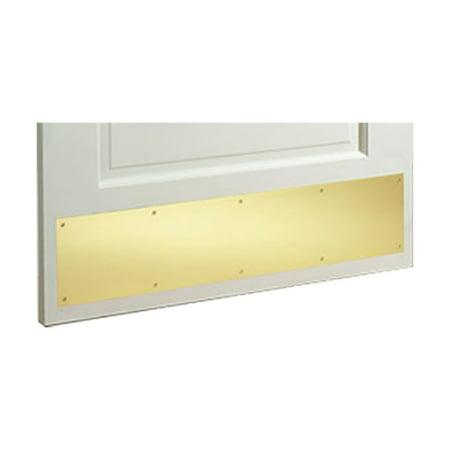 Gold PVD Stainless Steel Door Kick Plate 8 x (Door Stainless Steel Kick Plate)