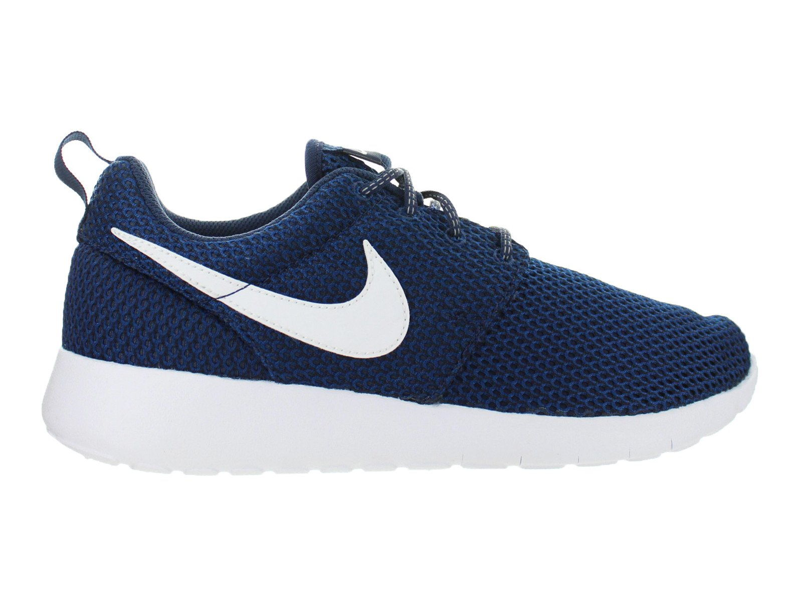 super popular 56421 791e0 ... greece nike kids nike roshe one gs midnight navy white gym blue black  8c65e 2fa2a