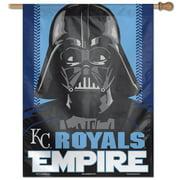 "Kansas City Royals WinCraft 28"" x 40"" Star Wars Empire Single-Sided House Banner"