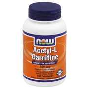 Now Foods Now  Acetyl-L Carnitine, 100 ea