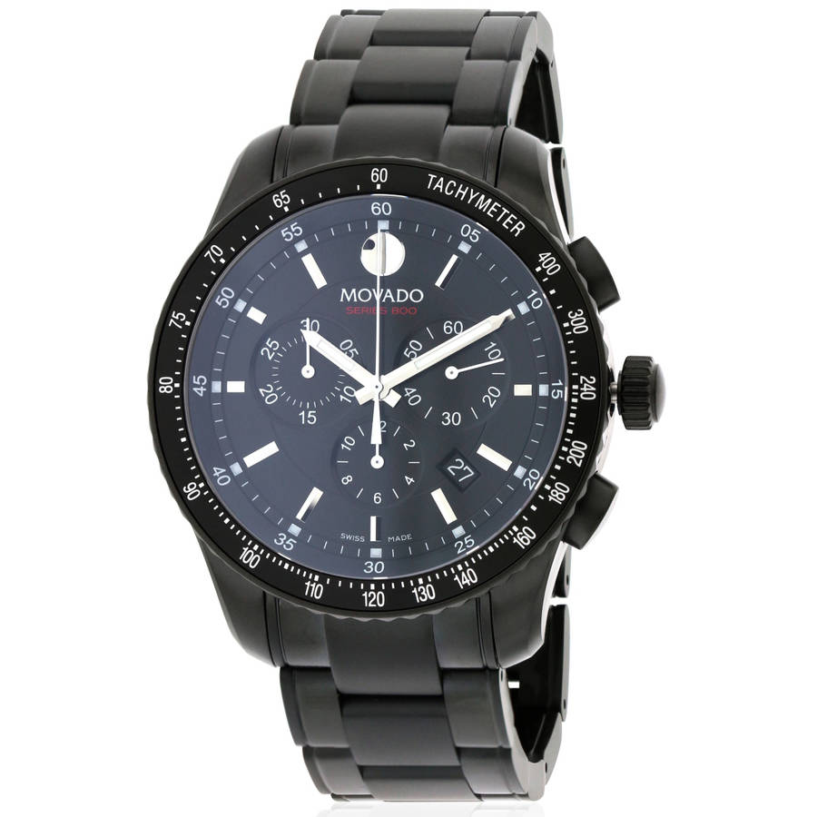 Series 800 Black PVD Chronograph Men's Watch, 2600107