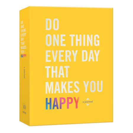Do One Thing Every Day That Makes You Happy : A Journal (Happy Halloween Things To Make And Do)