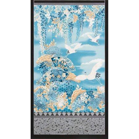 Imperial Collection Indigo Wisteria Mum Flower Garden 24