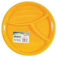 FLP Easy-Pack 8032 3-Section Dinner Tray, Plastic 6
