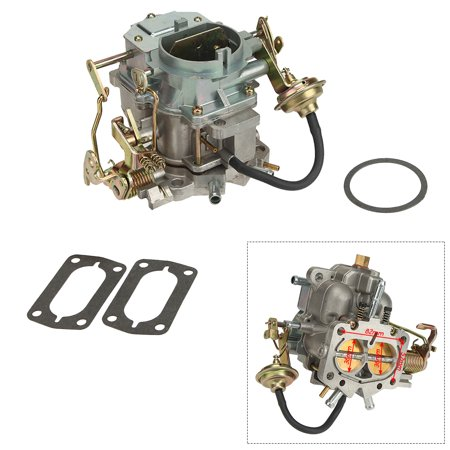 BEAMNOVA Car Carburetor for Plymouth Models Dodge Truck 1966-1973 with 273-318 Engine (Manual - Dodge Manual
