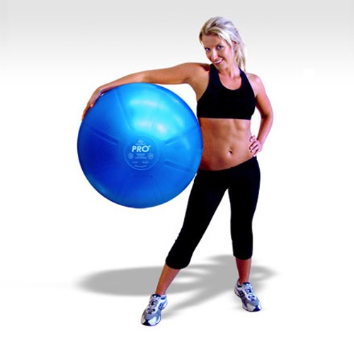 FitterFirst DuraBall PRO Exercise Ball 55cm - Purple