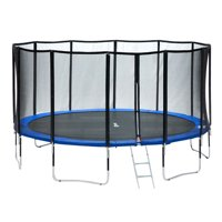 Exacme 15 FT Round Trampoline with 400 LBS Weight Limit&Upgraded Carbon Fiber Support Pole