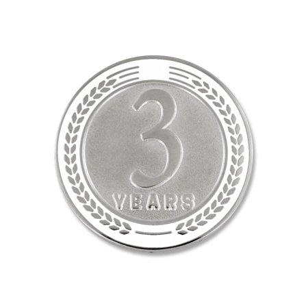 Recognition Gifts (PinMart's 3 Years of Service Award Employee Recognition Gift Lapel Pin -)