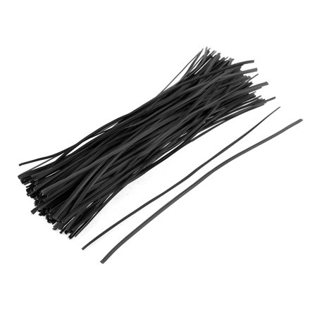130pcs Metal Cord Data Cable Binding Bags Packaging Wire Twist Ties 8
