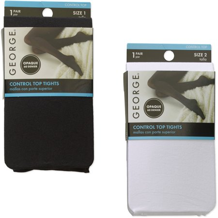 Dkny Control Top Opaque Tights - Opaque Control Top Tight, 2 pack