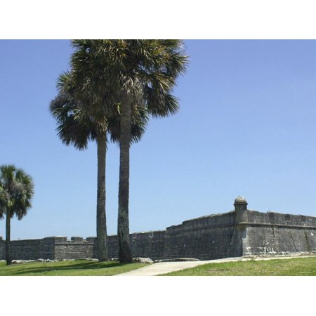 Castillo San Marcos, Spanish Colonial Fort in Saint Augustine, Florida Print Wall Art](Halloween Saint Augustine Florida)