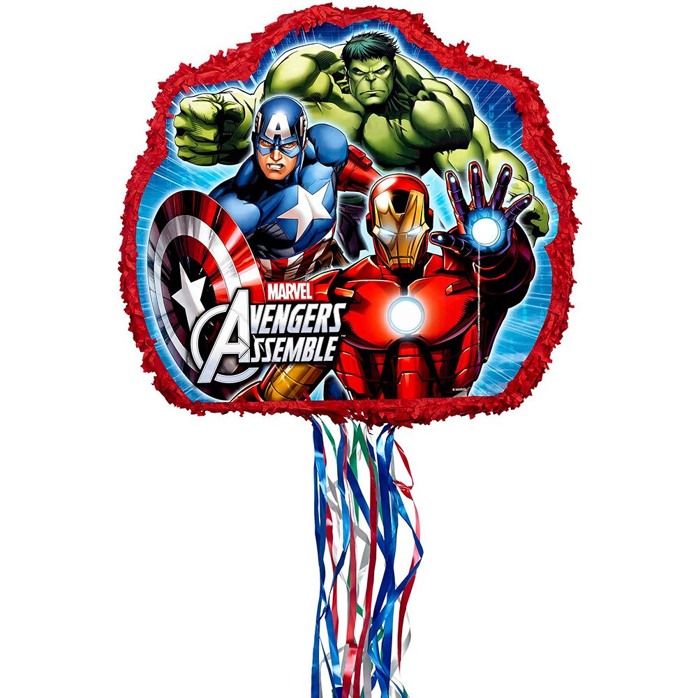 Avengers Party Decorations Avengers Pinata Each Party Supplies Walmartcom