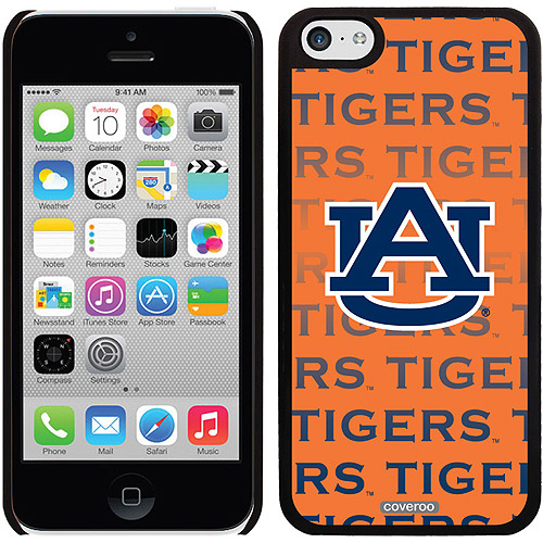 Auburn University Repeating Design on iPhone 5c Thinshield Snap-On Case by Coveroo