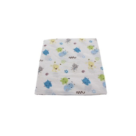 CoCaLo Baby Peek-a-Boo Monsters Baby Boy Nursery Crib Sheet Blue - Monsters Inc Babies
