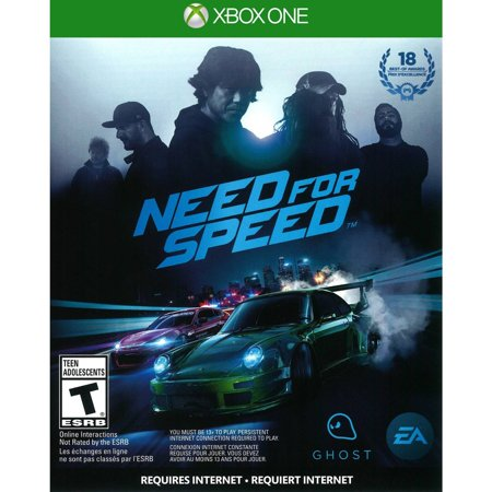 Need for Speed, Electronic Arts, Xbox One, 014633733853