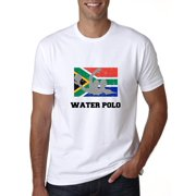 South Africa Olympic - Water Polo - Flag - Silhouette Men's T-Shirt