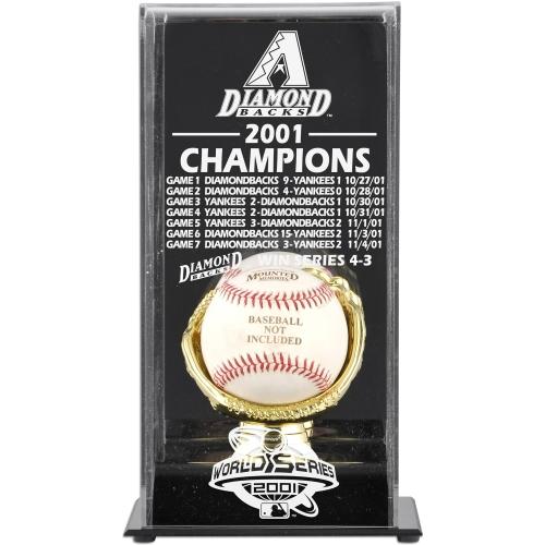 Arizona Diamondbacks Fanatics Authentic 2001 World Series Champions Baseball Display Case - No Size