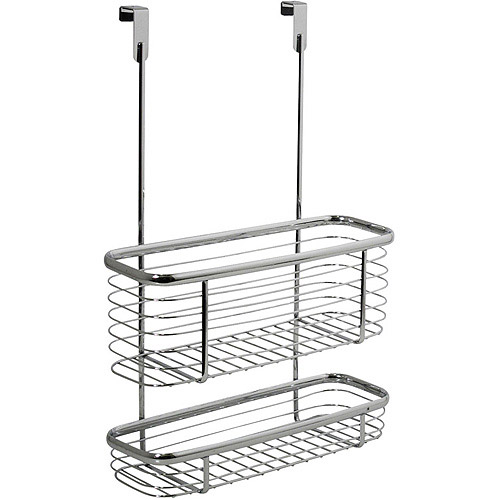 interdesign axis over the cabinet x3 basket walmart com rh walmart com over cabinet wastebasket walmart over the cabinet basket